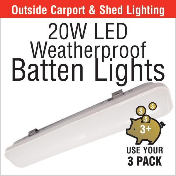 20w LED Batten Lights