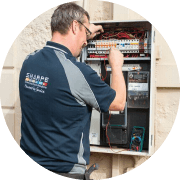 Sharpe's certified Electricians provide expert electrical services, repairs and installations in all Adelaide suburbs.