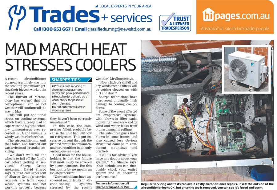 Mad March Heat Stresses Coolers