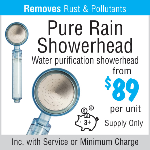Pure Rain Water Purification Showerhead