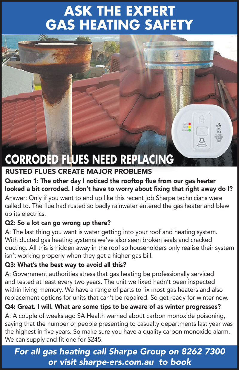 Ask the Expert - Gas Flues - wk25