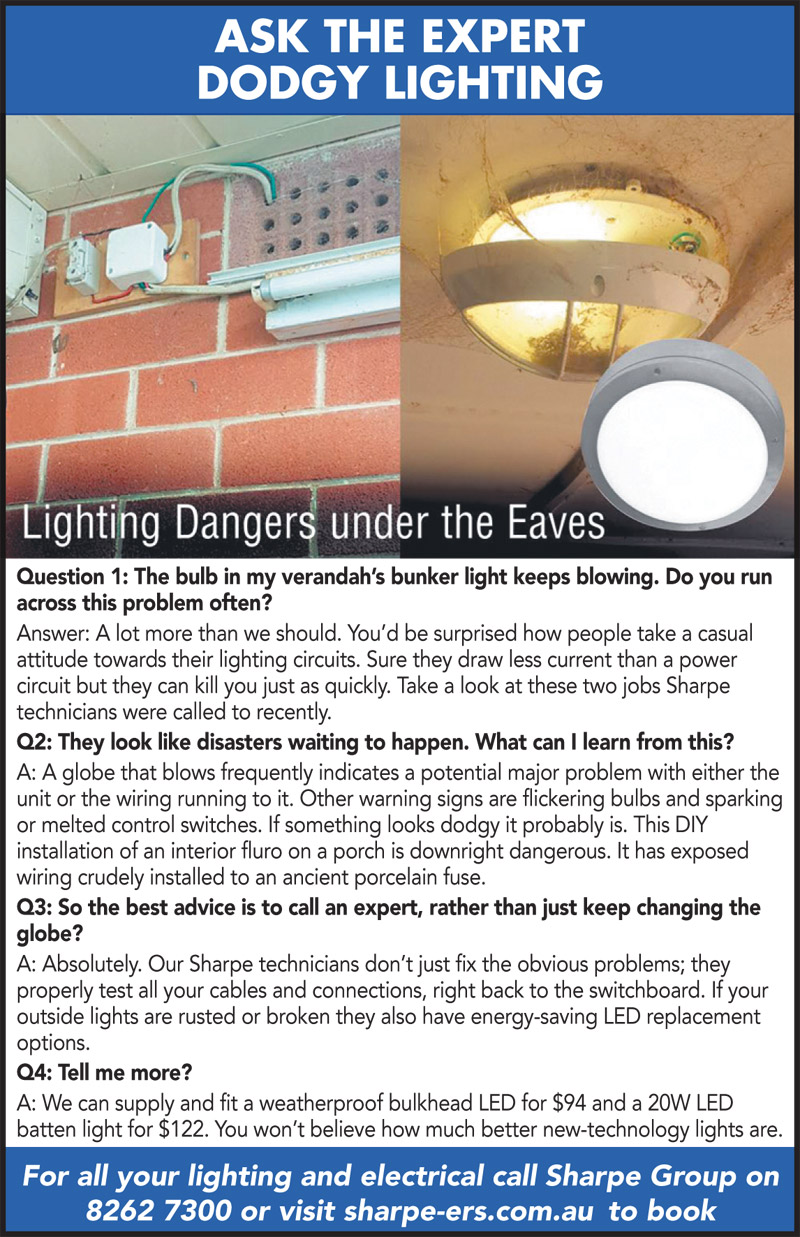 Ask the Expert - Lighting Dangers under the Eaves
