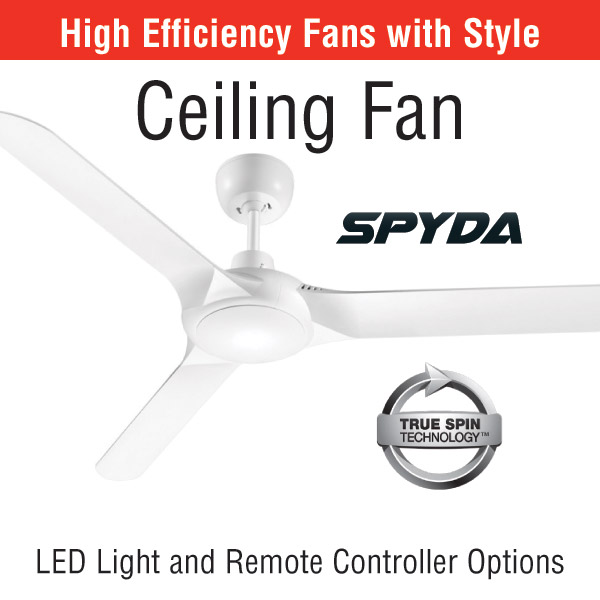 Ceiling fan savings sharpe ers spyda high efficiency ceiling fan mozeypictures Choice Image