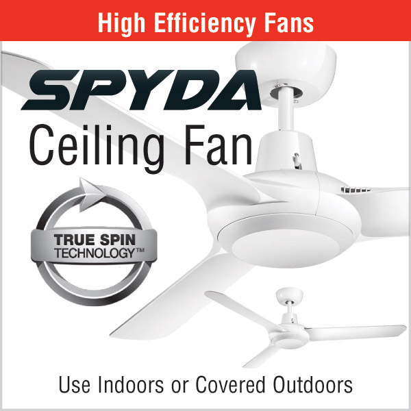SPYDA High Efficiency Ceiling Fan