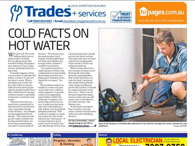 Cold facts on Hot Water
