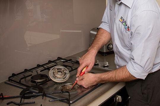 cooktop installation