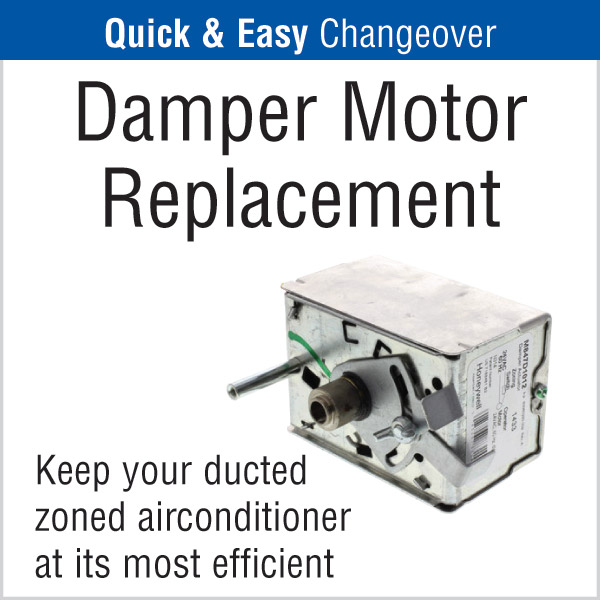 Damper Motor Replacement