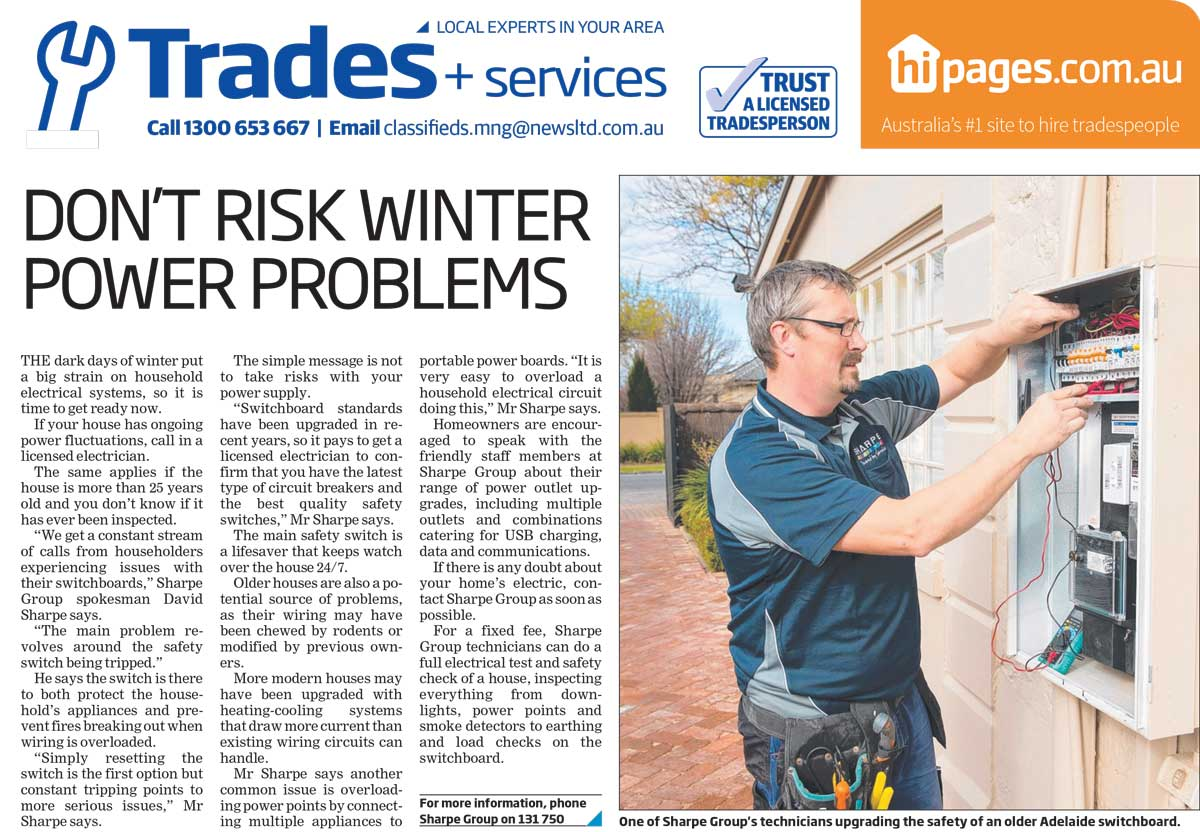 Don't risk winter power problems