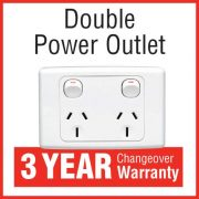 Double Power Outlet