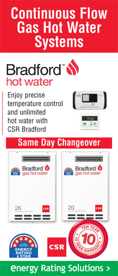 Gas Hot Water - ERS