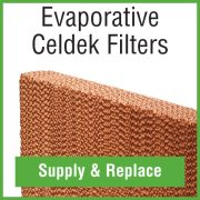 Evaporative Cooler Celdek filters