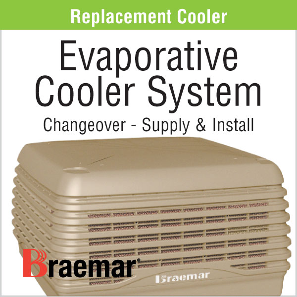 Evapoarative Cooler System Replacement