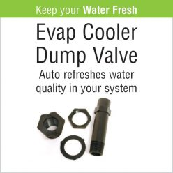 Evaporative Cooler - Dump Valve Replacement