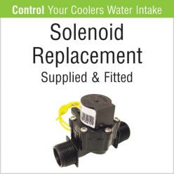 Evaporative Cooler - Solenoid Replacement