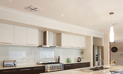 Exhaust fan installation in your kitchen