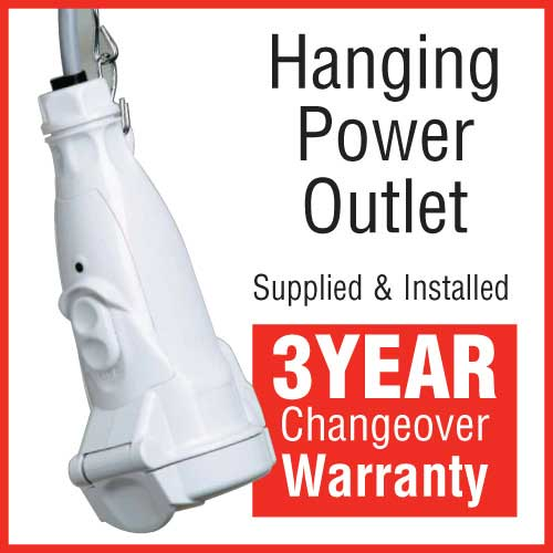 Hanging Power Outlet