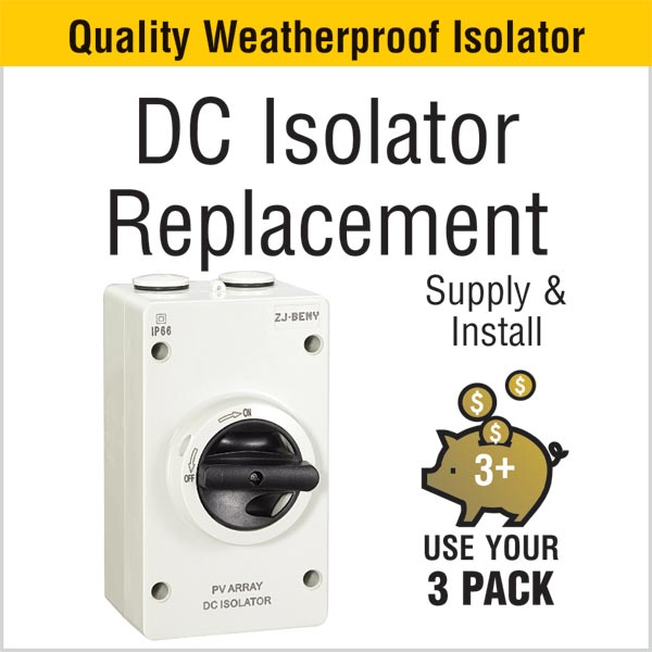 DC Isolator Replacement