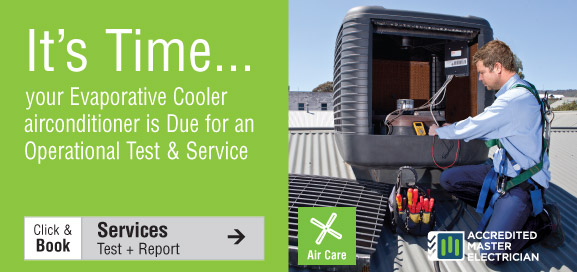 Evaporative Cooler test and service