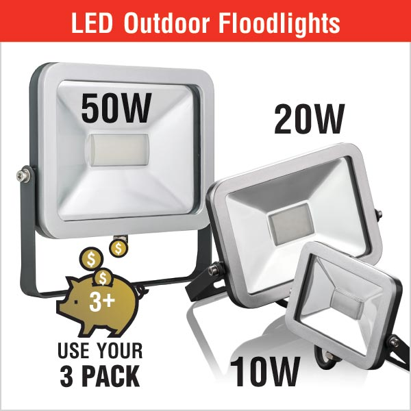 LED Outdoor Floodlights