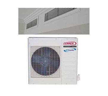 Lennox Ducted Heating & Cooling Split System