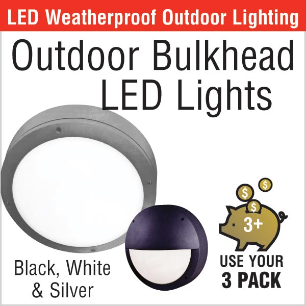 Outdoor Bulkhead LED Lights
