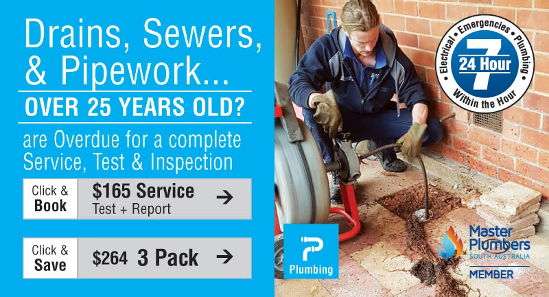 3 Pack Plumbing Service, Test & Inspection