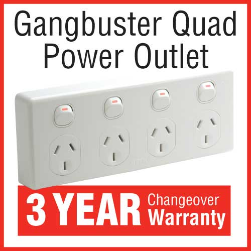 Quad Power Outlet