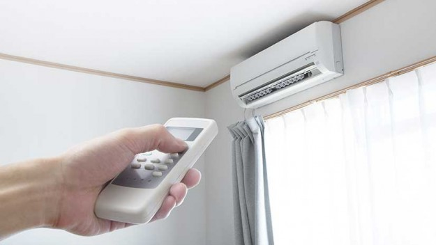 Switch R/C Airconditioner to heat