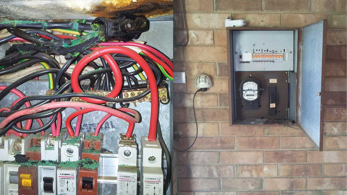 Electric Stove Wiring Installation