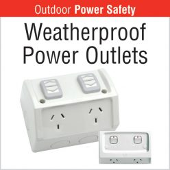 Weatherproof Power Outlets